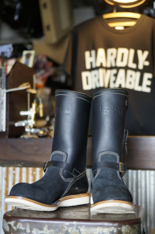 画像1: HARDLY-DRIVEABLE RAIN STOP ENGINEER BOOTS Type 2