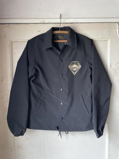 画像1: Three-layer coach jacket Black