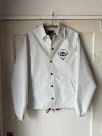 Three-layer coach jacket Ivory