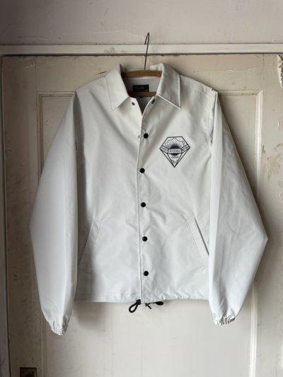画像1: Three-layer coach jacket Ivory