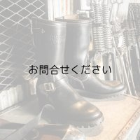 40's style engineer boots