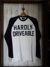 HARDLY-DRIVEABLE Long Sleeve Shirts (straight-Black)