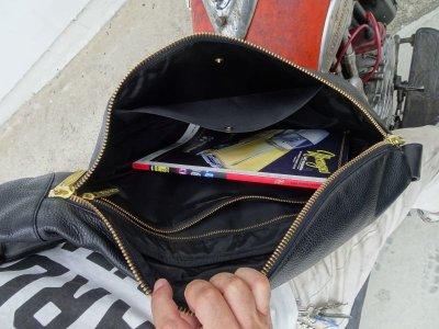 画像4: HARDLY-DRIVEABLE Motorcycle teardrop bag
