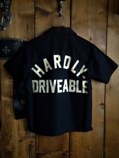 画像3: Short sleeve work shirt Black
