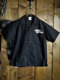 Short sleeve work shirt Black