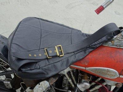 画像3: HARDLY-DRIVEABLE Motorcycle teardrop bag