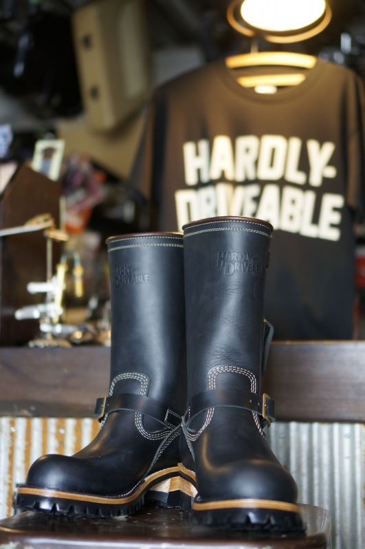 画像1: HARDLY-DRIVEABLE RAIN STOP ENGINEER BOOTS Type 1