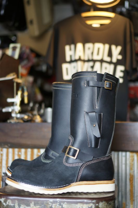 画像2: HARDLY-DRIVEABLE RAIN STOP ENGINEER BOOTS Type 2