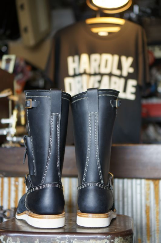 画像3: HARDLY-DRIVEABLE RAIN STOP ENGINEER BOOTS Type 2