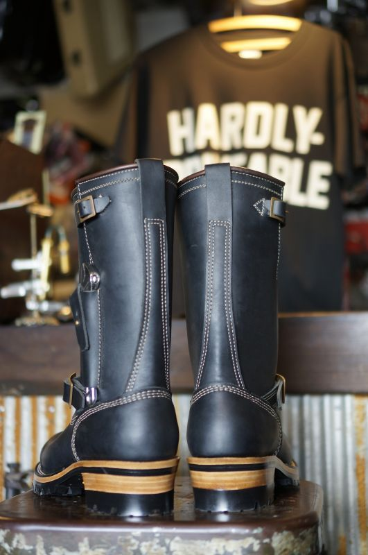 画像3: HARDLY-DRIVEABLE RAIN STOP ENGINEER BOOTS Type 1