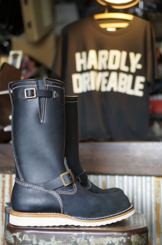 画像4: HARDLY-DRIVEABLE RAIN STOP ENGINEER BOOTS Type 2