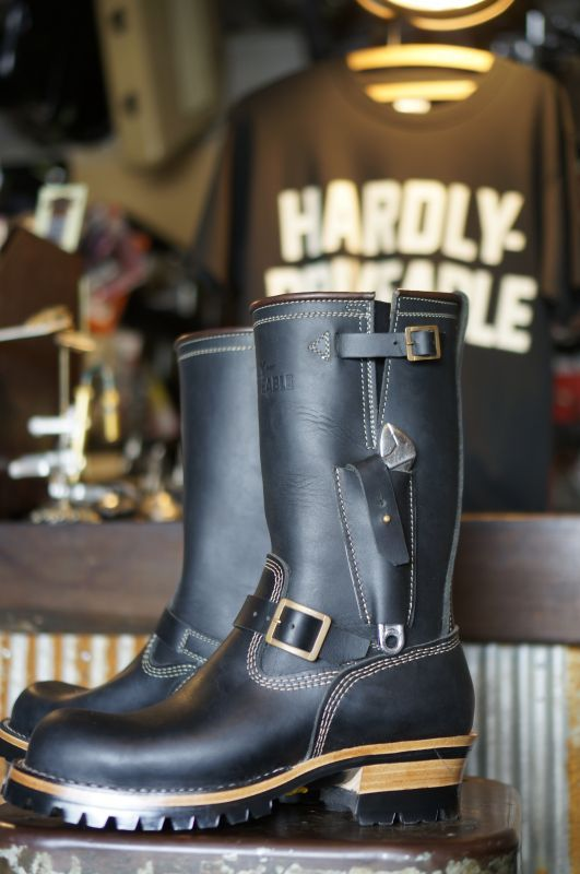 画像2: HARDLY-DRIVEABLE RAIN STOP ENGINEER BOOTS Type 1
