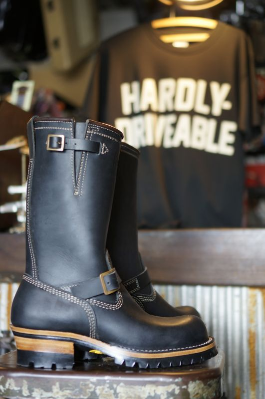 画像4: HARDLY-DRIVEABLE RAIN STOP ENGINEER BOOTS Type 1