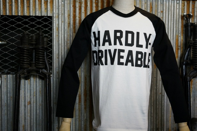 画像1:  HARDLY-DRIVEABLE Long Sleeve Shirts (straight-Black)