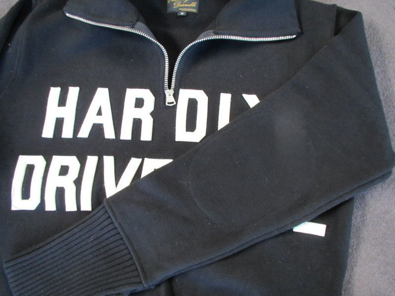 画像2: HARDLY-MOTORCYCLE SWEATER(heavy cotton)
