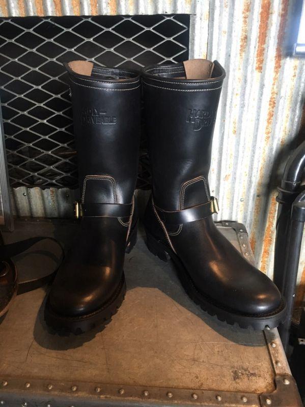 画像3: HARDLY-DRIVEABLE 40's style engineer boots