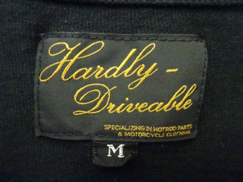 画像2:  HARDLY-DRIVEABLE Long Sleeve Shirts (straight-Black)