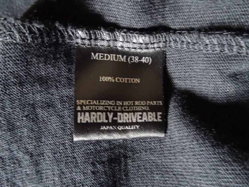 画像3:  HARDLY-DRIVEABLE Long Sleeve Shirts (straight-Black)