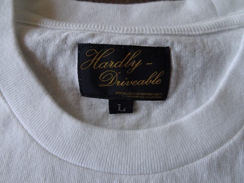 画像3:   HARDLY-Ivory white T shirt