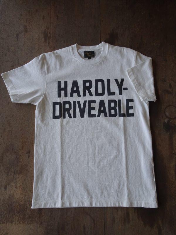画像1:   HARDLY-Ivory white T shirt